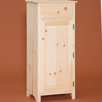 DR-500 1 Door Primitive Jelly Cabinet 21 1/2wx15 1/4dx47h