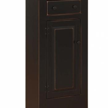 K-622-Jelly Cabinet w Drawer 23w12 3/4dx48h
