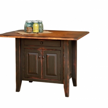 VIN-4-C-1-A Country Kitchen Island 32wx22d$1330