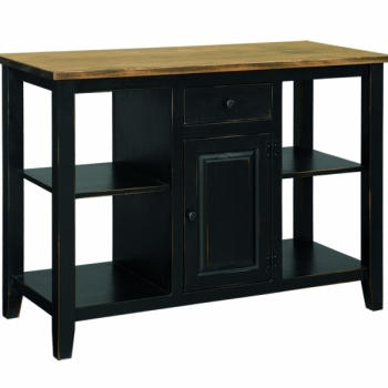 "J79 Two door kitchen island/ 22""top$710"