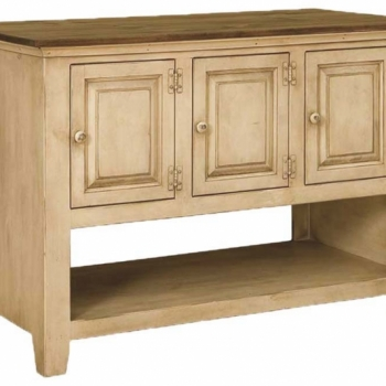 J-81 Six Door Kitchen Island 49wx26dx35h$630