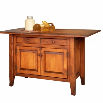 HB-4-C-3-A Country Kitchen Island 45wx22d$1550