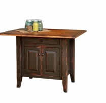 HB-4-C-1-A Country Kitchen Island 32wx22d