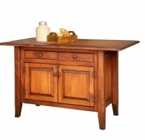 HB-4-C-3-A Country Kitchen Island 45wx22d