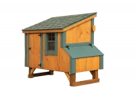 3' x 5' Lean To Cedar Chicken Coop