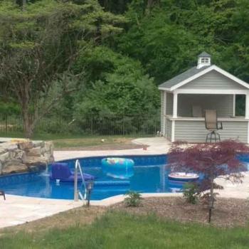 10 x 14 Limerick Pool House
