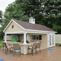 14' x 22' Custom Pool House