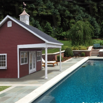 22' x 20' Custom Pool House
