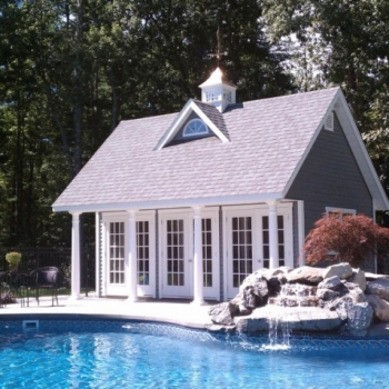 Custom 12-x-20 Poolhouse