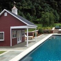 22' x 20' Custom Pool House