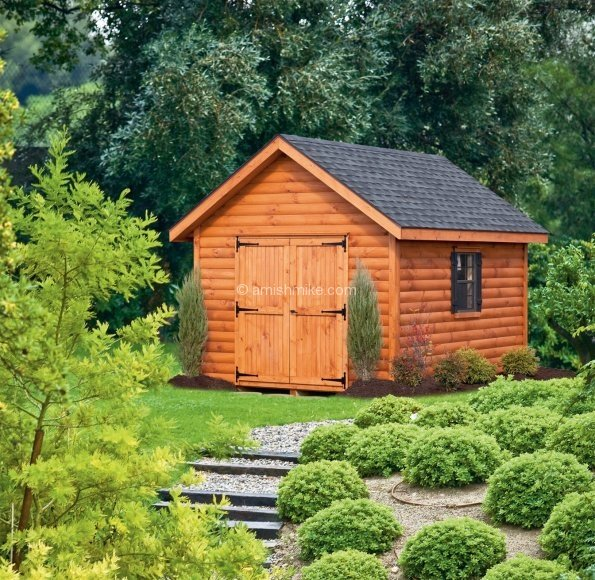 Log Cabin Style Storage Sheds Car Interior Design