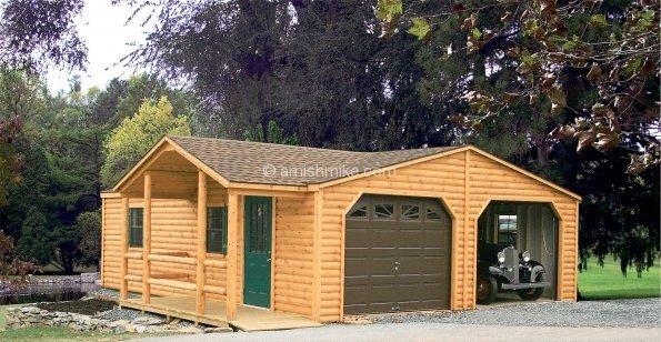 Log Cabin Heritage Sheds Amish Mike Amish Sheds Amish Barns Sheds Nj Sheds Barns