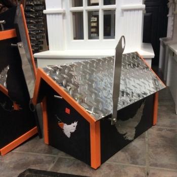 Harley Davidson Mailbox Diamond Plate Top $190