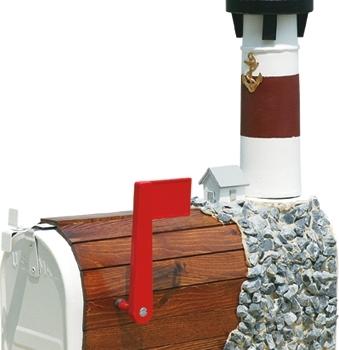 barnegat stone lighthouse mailbox