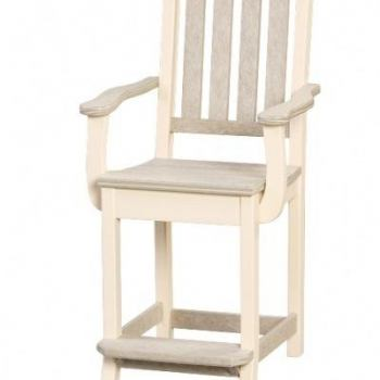 "WV-KE-ChA-Co/Ba  Keystone Counter Chair with Arms $430; ""Bar Height"" $435"