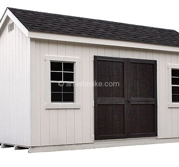 New England Carriage Shed White