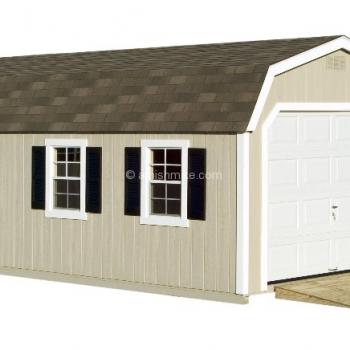 Deluxe Barn Garage