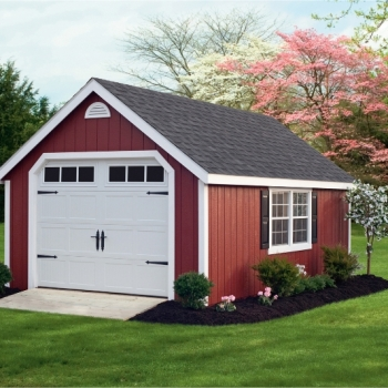 classic-wood-garage-red