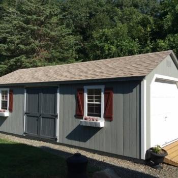 12x28 Deluxe Elite Garage