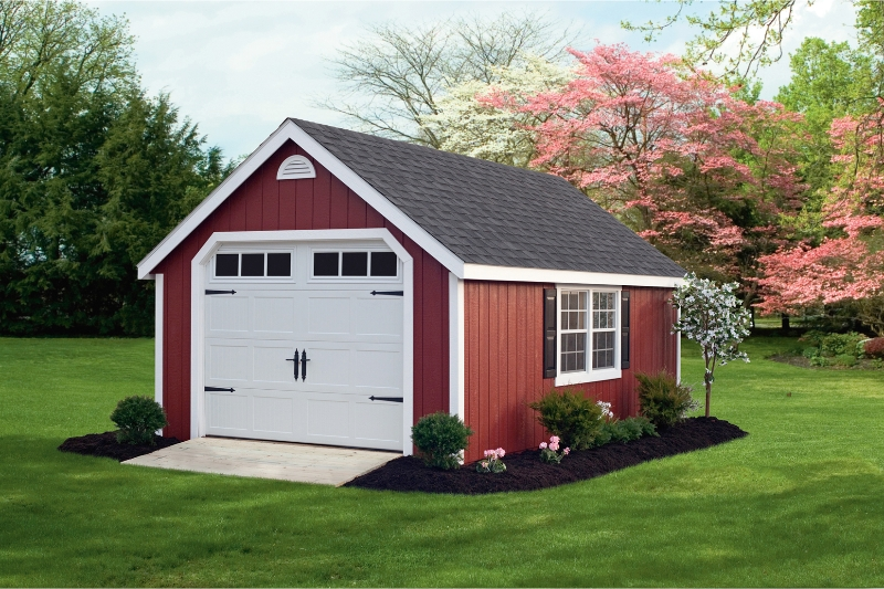 From Amish Garage : Easy to amish wood sheds nj