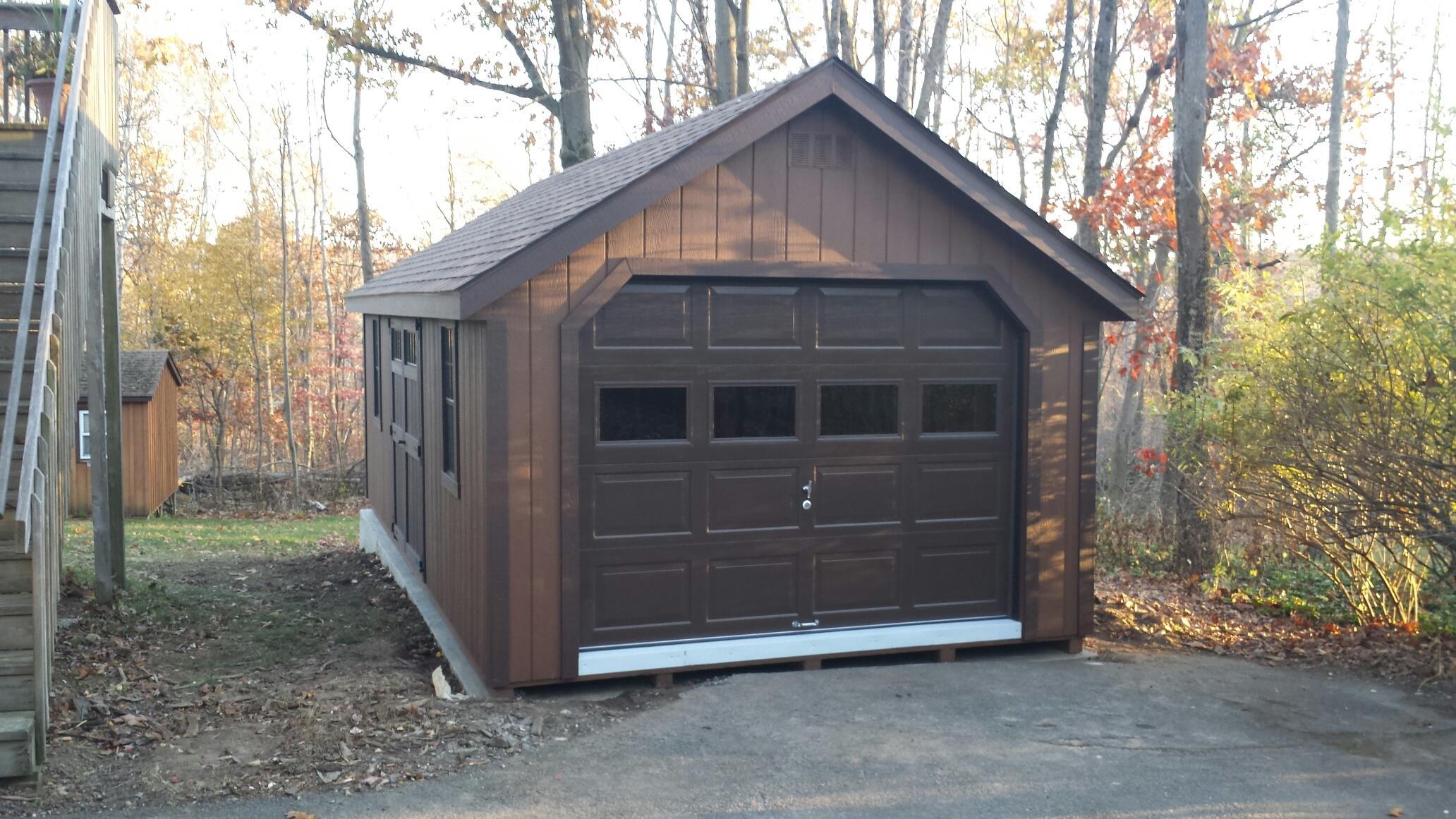 New England Garages Amish Mike Amish Sheds Amish Barns