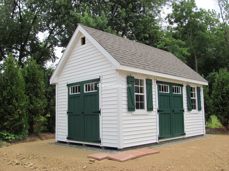 New England Lincoln Sheds Amish Mike Amish Sheds Amish