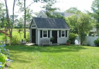 New England Garden A Shed