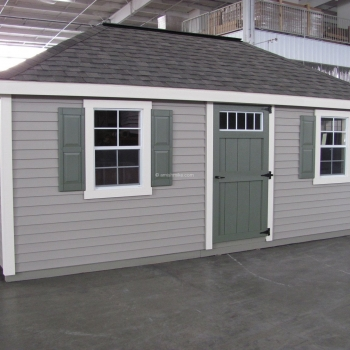 12' x 18' New England Hip Shed