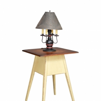 HB-31-A Shaker Lamp Table 22wx30hx23d