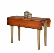 HB-25-5 Narrow Farm Table with 2-8 1/2 Drops 49wx30hx18d