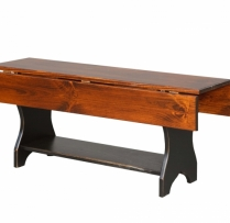 HB-32-A Drop Leaf Coffee Table 42wx18hx13d