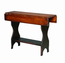 HB-32-C Drop Leaf Hall Table 32wx30hx13d