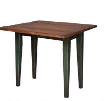 HB-25-Q 3' Narrow Farm Table with 2-8 1/2 Drops 36wx30hx18d