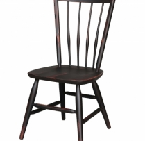 HB-36-O Thumb Back Side Chair 18wx38hx16d