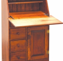 K-1394-Secretary Desk 25wx13dx42 3/4