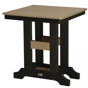 """Garden Classic 28"""" Square Table:"""