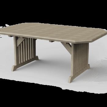 JWC-4x6 English Garden Dining Table