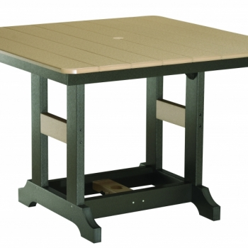 44 Inch Square Table