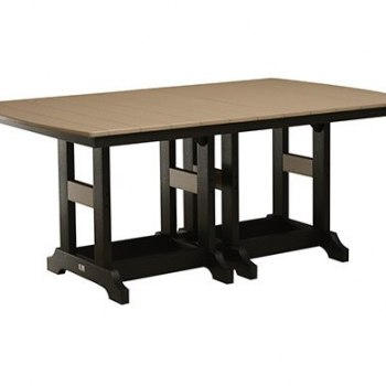 ": Garden Classic 44"" x 72"" Rectangular Table"
