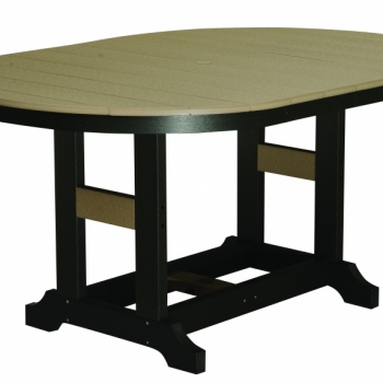 "44x64 Inch Oblong Table 44""wx64""lx31""H {GCST4464D} $1304"
