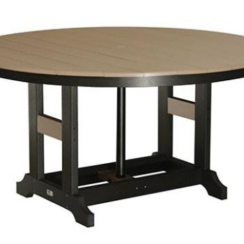 "Garden Classic 60"" Round Table:"