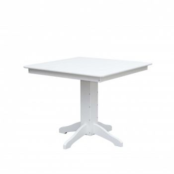 DB: 44″Square Pedestal Dining Table: