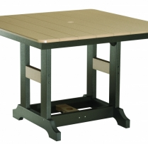 "44 Inch Square Table 44""Wx44""Lx31""H {GCLT0044D} $876"