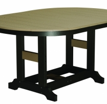 "44x64 Inch Oblong Table 44""wx64""lx31""H {GCST4464D} $1225"