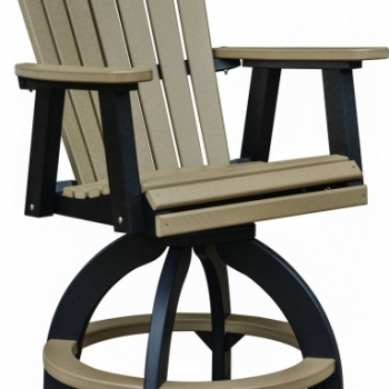 "Comfo Back Swivel Bar Chair 28""Wx27""Dx51""H {ESBC2135} $700"