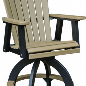 """Comfo Back Swivel Counter Chair 28""""Wx27""""Dx46""""H {ESCC2131} $660"""