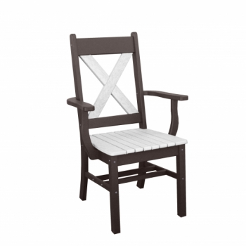 X Side Chair with Arms $345