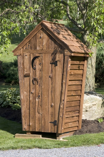 Outhouses amish mike amish sheds amish barns sheds nj for Garden shed 3x3