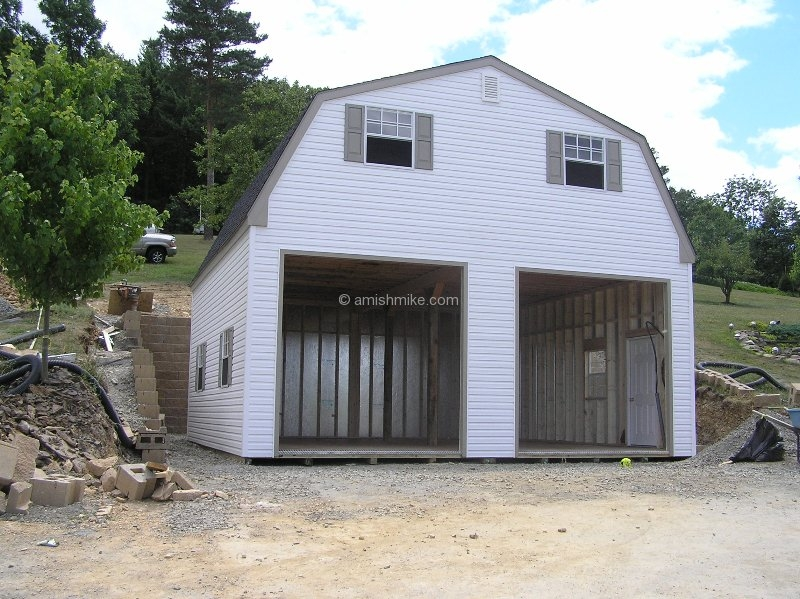 From Amish Garage : Patriots garages amish mike sheds barns