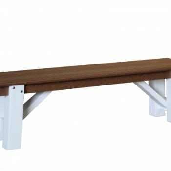DB-631-60 Tressle Bench $580